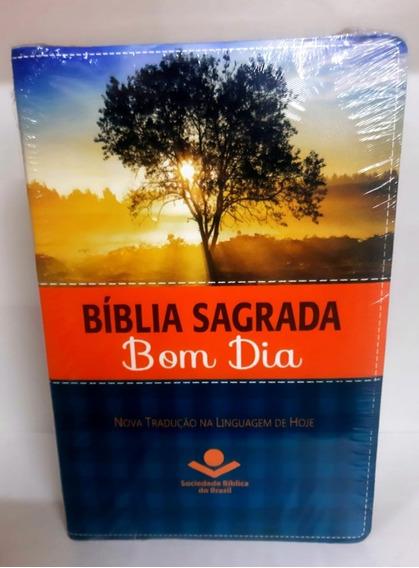 Bíblia Sagrada Bom Dia = Biblia De Estudo Devocional