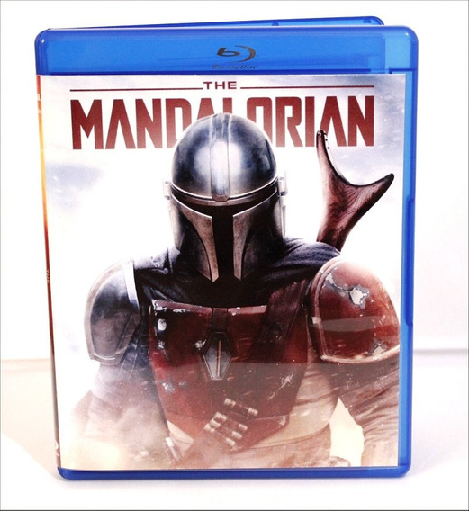Blu-ray Da Série The Mandalorian - 1ª Temp - Dubl/legendado