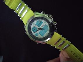 Relógios Digital Aventura Cor Lima Serie Especial