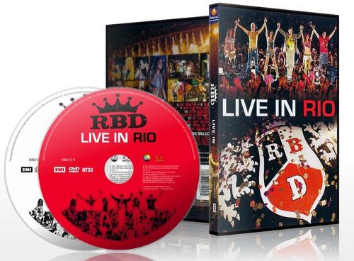 Dvd Rbd Live In Rio + Cd Brinde