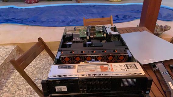 Servidor Dell R720 128 De Ram 2x 300gb Sas