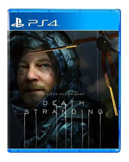 Death Stranding Ps4 Mídia Física Novo Lacrado