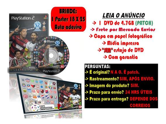 Winning Eleven Libertadores Versão 2 + Brinde Poster 25 X 18