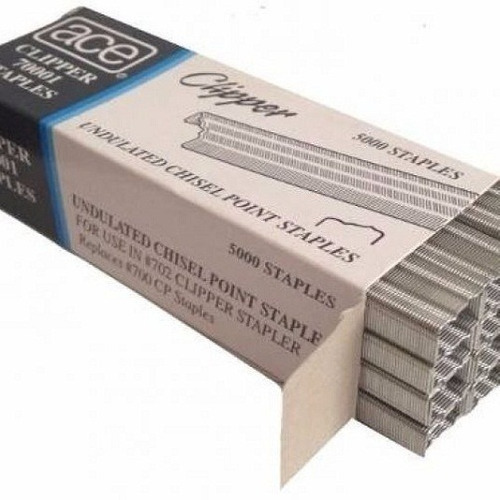 Grapas Corrugadas Ace Clipper 70001 Staples