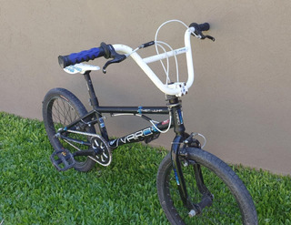 Bicicleta Bmx Freestyle Vairo Twist Jump Rod. 20 Black Usada