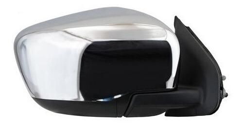 Imagen 1 de 1 de Espejo Retr Der Electrico Cromado Nissan Np300 Frontier 16-