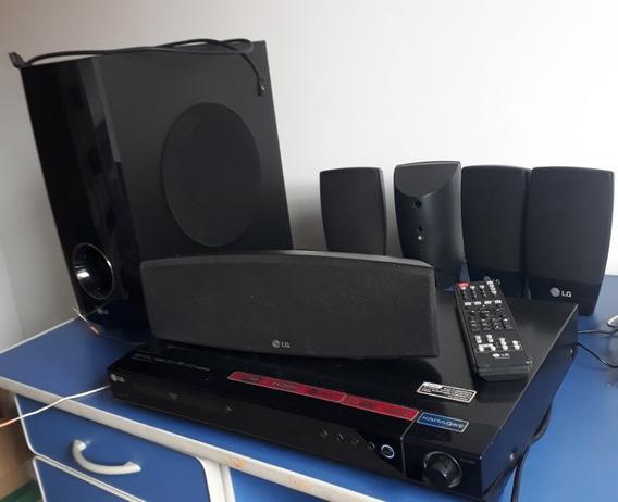 Home Teather Lg Karaokê Seis Caixas De Som Quadrifonico Sub