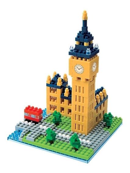 Nanoblock Big Ben Londres Juguete Rompecabezas Juego Regalo