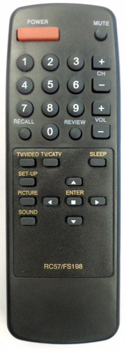 Control Remoto Para Tv Rc57 Fs198 Etc Mn#6023