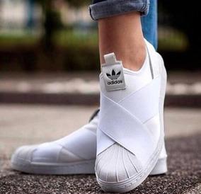 Tênis Slip On Elástico Branco adidas Masculino