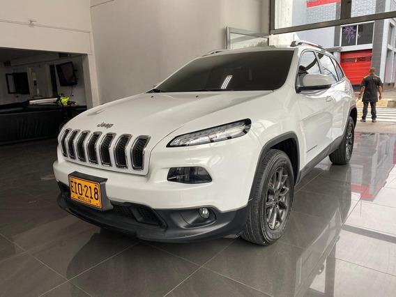 Jeep Cherokee Longitude 3.2cc Aut 4x4 Blanca 2017 Eio218
