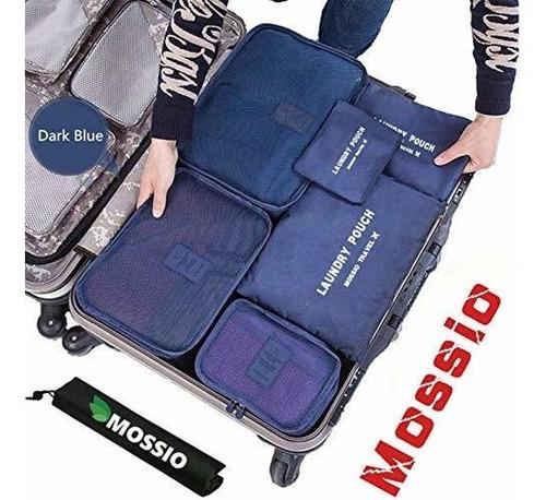 Mossio 7 Conjunto Embalaje Cubos Con Bolso Del Zapato -