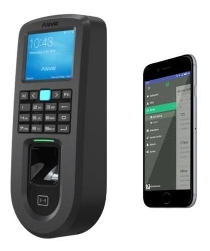 Control Horario Reloj Acceso Biometrico Huella Anviz Vf30