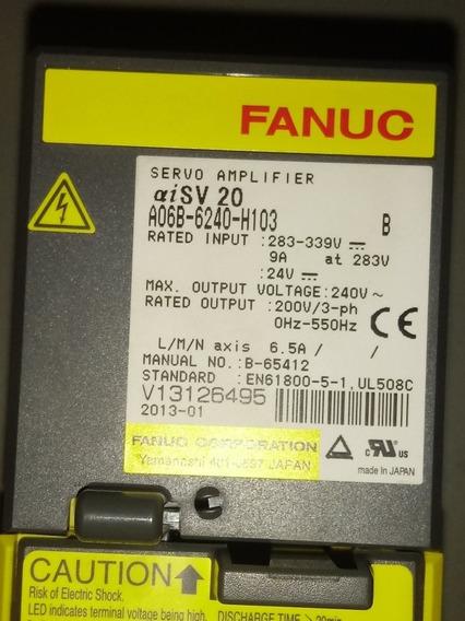 Servo Amplificador Fanuc