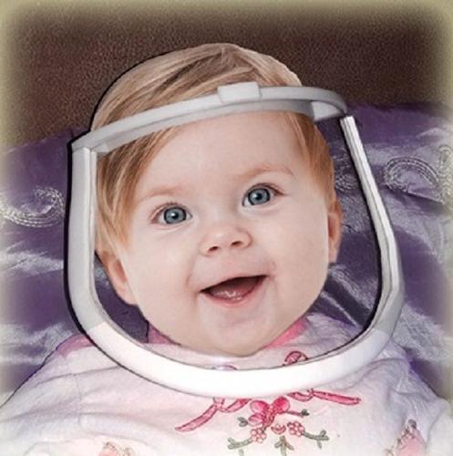 Imagem 1 de 3 de Face Shield Bebê E Recém Nascido
