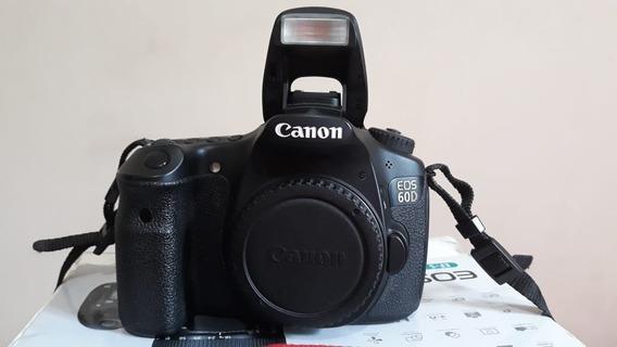 Câmera Canon 60d + Acessórios Novíssima