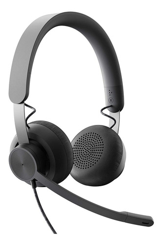 Headset Logitech Auriculares Zone Wired Usb