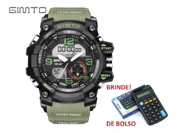 Relógio Gimto Gm 305 + Brinde