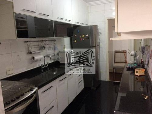 Apartamento Com 3 Dormitórios À Venda, 80 M² Por R$ 450.000 - ????·??·???? - São Paulo/sp - Ap0187