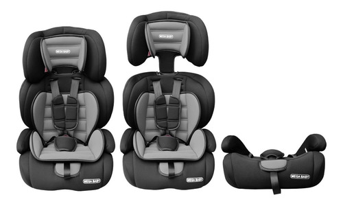 Imagen 1 de 8 de Butaca Booster Mega Baby Auto Bebe 3en1 Mega Baby 9 A 36 Kg