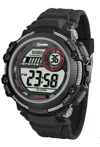 Relógio Original X-games Digital Xmppd519 Bxpx Esportivo