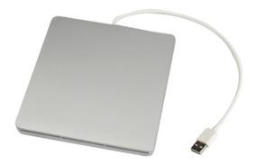 Gravador Dvd Para Macbook Super Drive Prata Com Nfe (novo)