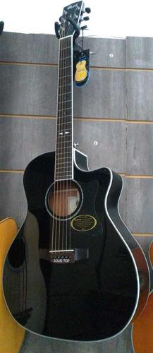 Violão Elétrico Cort Ref Ga5f-bk
