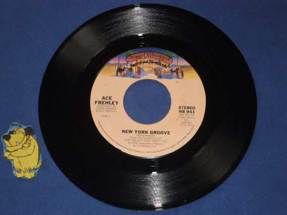 Ace Frehley/kiss - New York Groove (vinilo) Simple 7 Usa 78