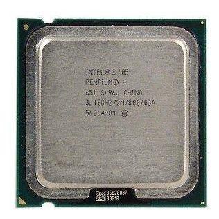 Kit 11 Processador 775 Pentium 4 Ht - Mod 651 3.4 /2m /800