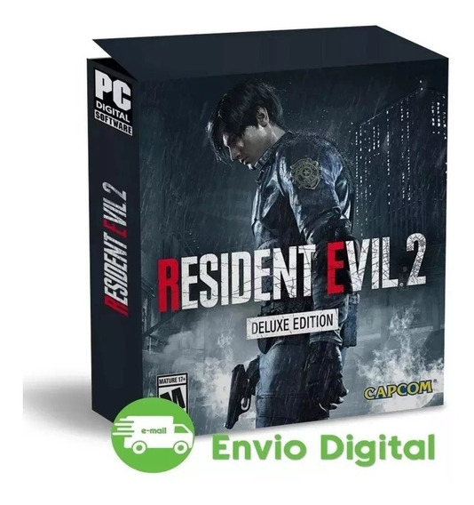 Resident Evil 2 Pc Remake Deluxe Edition Mídia Digital Pt Br