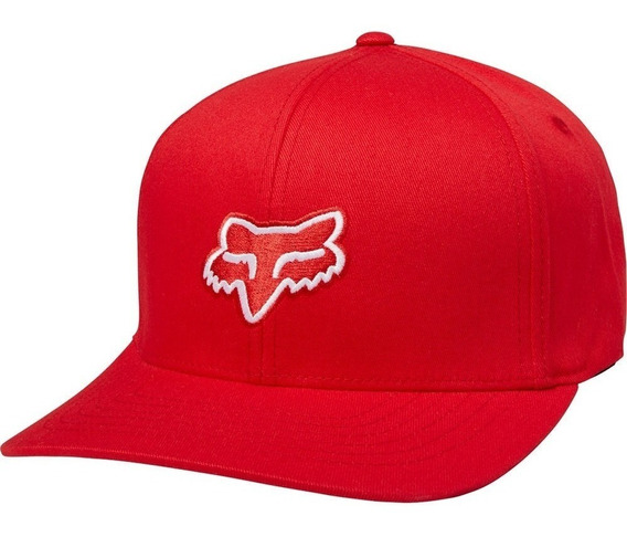 Gorra Fox Flexfit Legacy Roja Cachucha