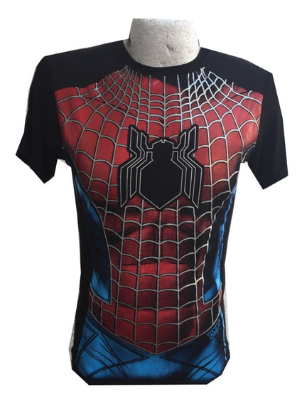 Playera Spiderman Talla Mediana Envío Gratis