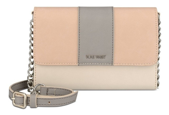 Bolsa Crossbody Nine West Aleski Faux Leather