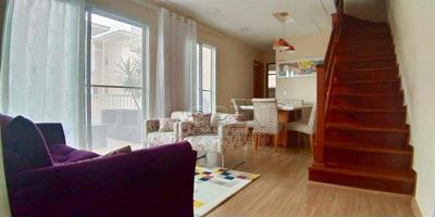 Apartamento Duplex Com 4 Dormitórios À Venda, 127 M² Por R$ 535.000 - Planalto - São Bernardo Do Campo/sp - Ad0016