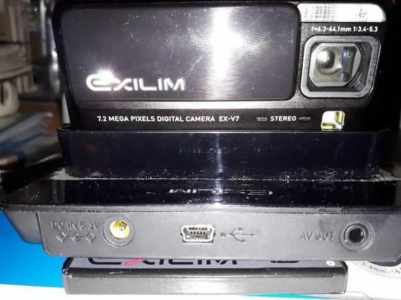 Cámara Digital Casio Exilim Ex-v7