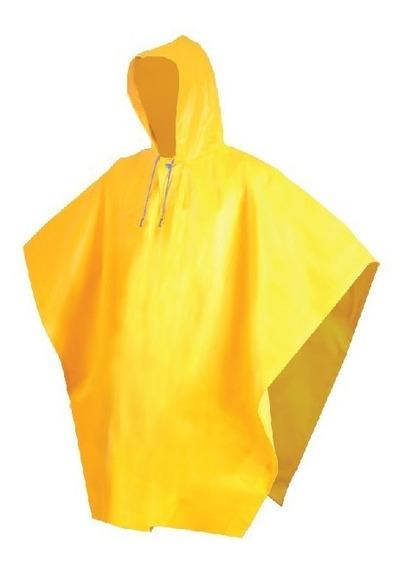 Impermeable Tipo Capamanga Amarilla Corta Jyrsad-1124dielect