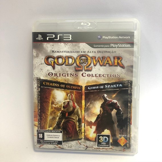 God Of War Origins Collection Ps3 Usado Midia Fisica