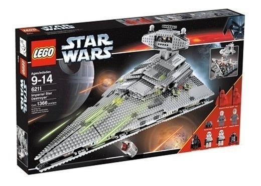 Lego 6211 Star Wars Imperial Destructor Estelar