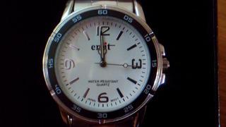 Reloj Emit - 44 Mm De Diametro - Malla Metalica Nuevo