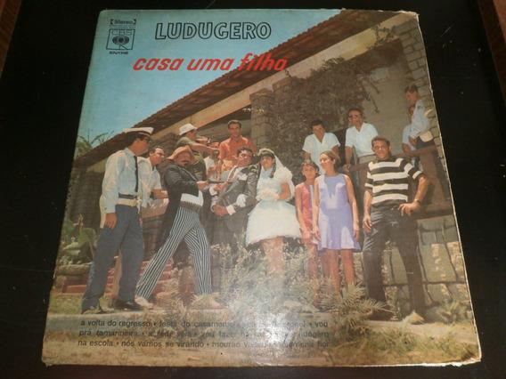Capa Lp Ludugero - Casa Uma Filha, Disco Vinil - Obs