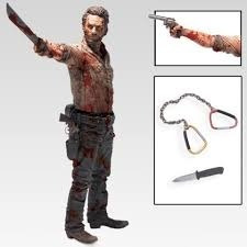 Rick Grimes The Walking Dead Mcfarlane 25cm Deluxe Original