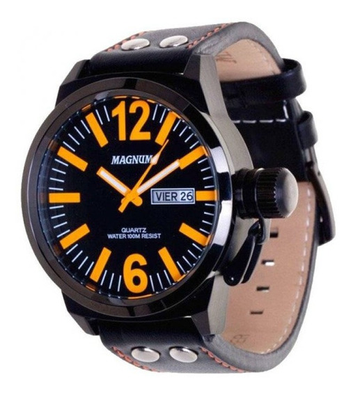 Relógio De Pulso Magnum Masculino Quartz Military Ma31524l