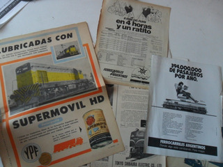 Lote Tren Ferrocarriles Argentinos Toshiba Antiguo Roca
