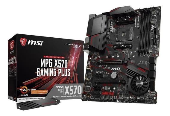 Placa Mãe Msi Mpg X570 Gaming Plus Amd Am4 Atx Ddr4 Ryzen