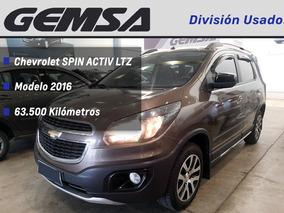 Chevrolet Spin Activ Ltz 5 Asientos 2016