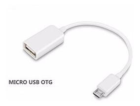 Cable Micro Usb Otg Adaptador Lote 10 Piezas
