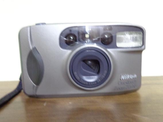 Maquina Fotografica Nikon One Touch Filme 35mm Funcionando