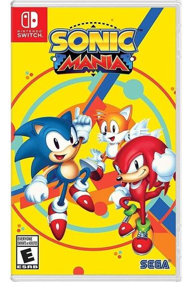 Sonic Mania Nintendo Switch Midia Fisica