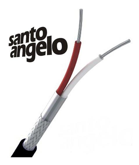 20mts Fio Microfone Balanceado Santo Angelo X30
