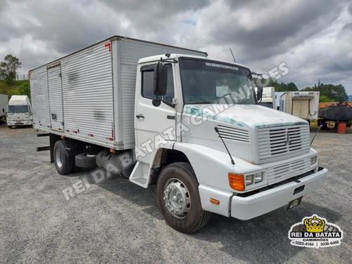 Mercedes Benz L 1218 Turbo Baú 6,40m Revisado